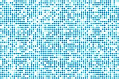 Il freddo blu astratto di vettore del mosaico dell'inverno circonda il fondo Illustrazione Vettoriale