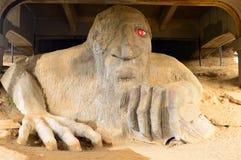 Il Fremont Troll a Seattle immagine stock libera da diritti