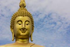 Il fronte Buddha Immagine Stock