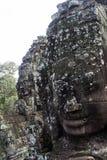 Il fronte di Angkor Thom Fotografia Stock