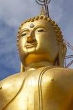 Il fronte di Buddha Fotografie Stock