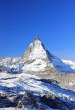 Il fronte orientale del Cervino Le alpi, Svizzera Immagine Stock Libera da Diritti