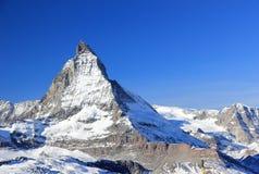 Il fronte orientale del Cervino Le alpi, Svizzera Immagine Stock