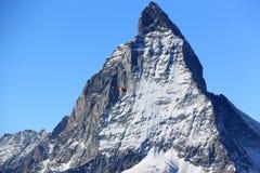 Il fronte orientale del Cervino Le alpi, Svizzera Immagini Stock