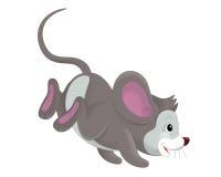 Il fumetto - topo - illustrazione per i bambini illustrazione vettoriale