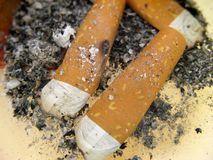 Il fumo è difettoso Fotografia Stock