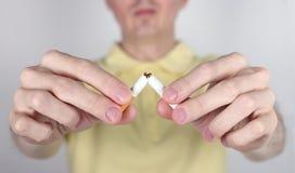 Il fumo è nocivo alla vostra salute Fotografie Stock Libere da Diritti
