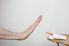 Il fumo è nocivo alla vostra salute Immagine Stock Libera da Diritti