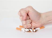 Il fumo è nocivo alla vostra salute Immagine Stock
