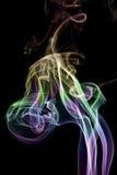 Il fumo di colore Fotografie Stock Libere da Diritti
