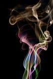 Il fumo di colore Fotografia Stock