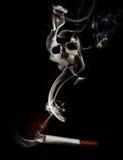 Il fumo può causare la morte Immagine Stock Libera da Diritti