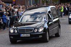 Il funerale di stato dell'ex presidente della Finlandia Mauno Koivisto fotografia stock