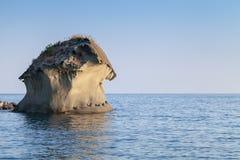 Il Fungo Det berömt vaggar av Ischia Royaltyfri Bild