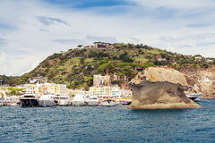 Il Fungo,  Lacco Ameno, Ischia, Italy Royalty Free Stock Photos
