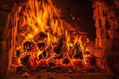 Il fuoco Fotografia Stock