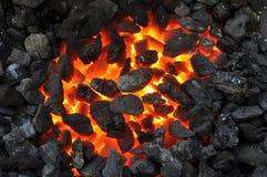 Il fuoco di mistero Immagini Stock