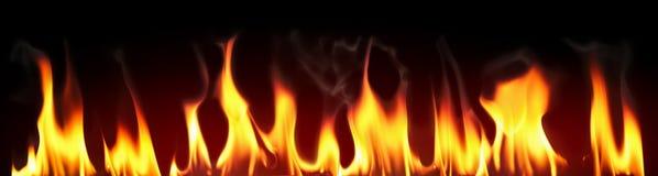 Il fuoco fiammeggia la priorità bassa Immagini Stock Libere da Diritti