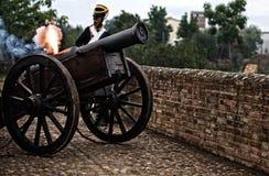 Il fusibile in fuoco Fotografia Stock Libera da Diritti