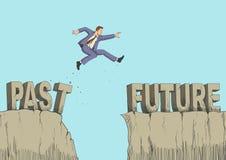 Il futuro è una sfida illustrazione di stock