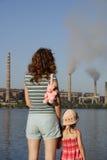 Il futuro è in vostre mani Fotografie Stock Libere da Diritti