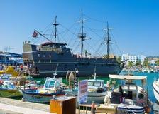 Il galeone turistico Immagini Stock