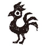 Il gallo assomiglia a Phoenix Fotografie Stock