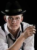 Il gangster sta distendendosi Fotografia Stock