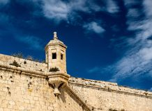 IL-Gardjola, παρατηρητήριο Μάλτα Στοκ φωτογραφίες με δικαίωμα ελεύθερης χρήσης