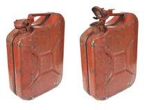 Il gas arrugginito può Fotografia Stock