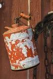 Il gas d'annata può Fotografia Stock Libera da Diritti