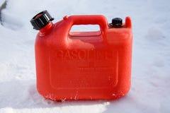 Il gas di plastica può fotografia stock