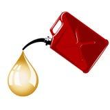 Il gas può Immagini Stock