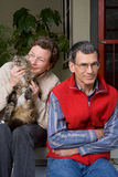 Il gattino viene in primo luogo! Fotografie Stock Libere da Diritti