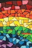 Il gay colora i graffiti Immagini Stock Libere da Diritti