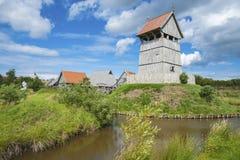 Il gelburg del ¼ di Turmhà nel tjenburg del ¼ di Là Fotografie Stock