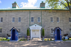 La Citadelle della Quebec, Québec Fotografia Stock