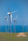 Il generatore elettrico, facendo uso di energia eolica Fotografia Stock Libera da Diritti