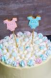 Il genere rivela il dolce con la caramella gommosa e molle ed il pan di zenzero Fotografia Stock Libera da Diritti