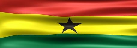 Il Ghana Fotografia Stock