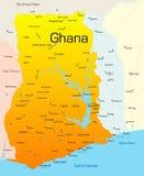 Il Ghana Fotografie Stock Libere da Diritti