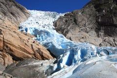 Il ghiacciaio Immagini Stock