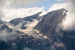 Il ghiacciaio di Grossglockner. L'Austria Immagine Stock