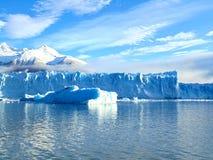 Il ghiacciaio di Perito Moreno Fotografia Stock