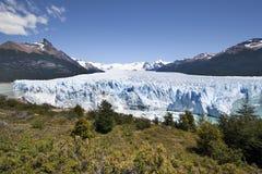Il ghiacciaio di Perito Moreno trascura Immagini Stock