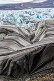 Il ghiacciaio il Serp-i-Molot in una baia riguarda Novaya Zemlya Fotografia Stock Libera da Diritti