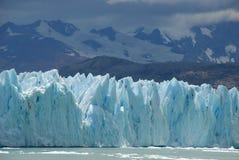 Il ghiacciaio nel Patagonia, Argentina di Upsala. Fotografia Stock