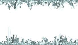 Il ghiaccio dell'inverno rovina la struttura Fotografia Stock