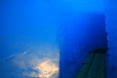 Il ghiaccio frana il ghiacciaio del rhone Fotografie Stock Libere da Diritti