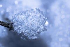 Il ghiaccio magico Fotografia Stock